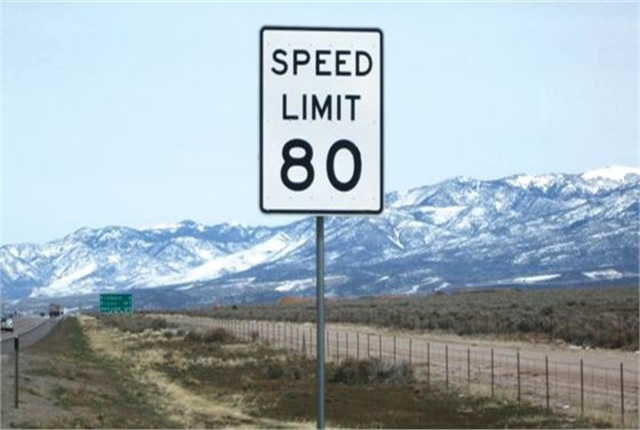 Utah bumps Speed Limit