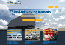 DrivingRecord - New Website