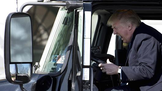 Trump Talks With Truckers